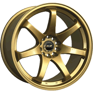 XXR Wheels </br> 522 Series Gold