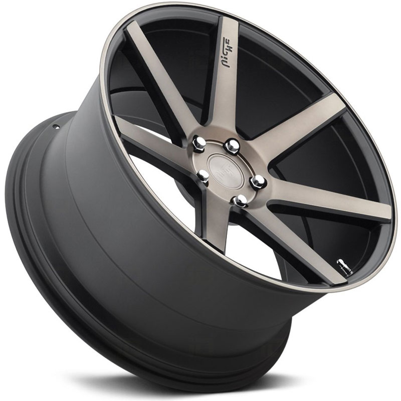 Bmw M3 Wheels: Niche Verona M150 Black Machined Wheels