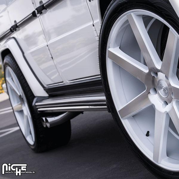 Niche Verona M151 Gloss White Machined Wheels 4wheelonline Com