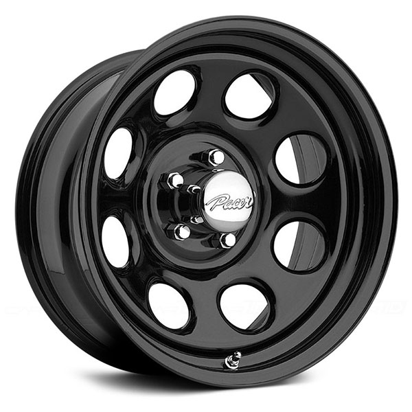 Pacer 297b Soft 8 Black Wheels 4wheelonline Com