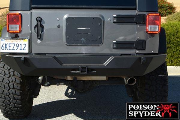 Poison Spyder Rockbrawler Rear Bumpers 4wheelonline Com