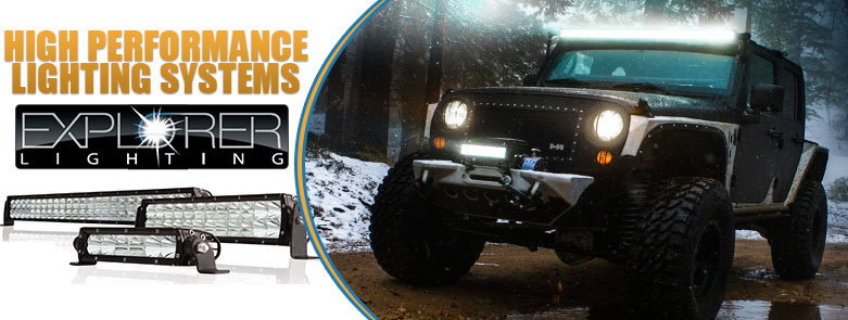 Pro Comp Explorer LED Lights