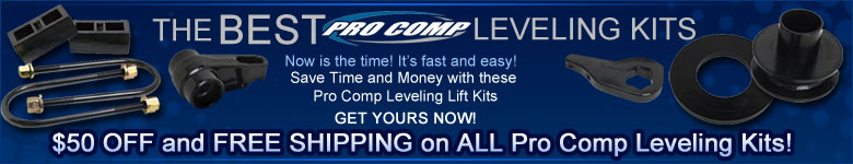 Lowest Prices on Pro Comp Leveling Lift Kits