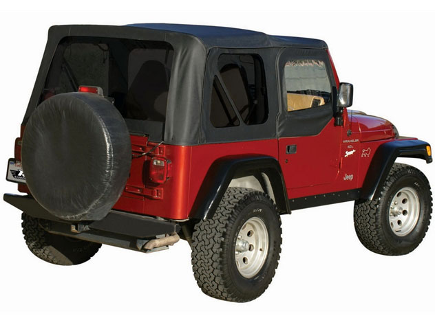rampage replacement sailcloth soft tops 97 06 jeep wrangler tj tinted. Black Bedroom Furniture Sets. Home Design Ideas