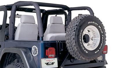 1997 Jeep Wrangler For Sale >> Rampage Full Roll Bar Padding Kit for 97-02 Jeep TJ   4WheelOnline.com