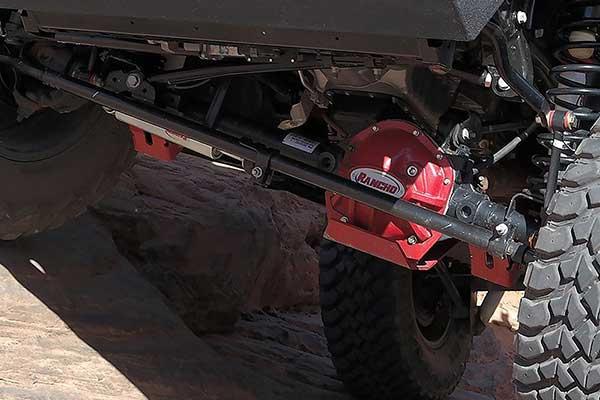 Jeep Extended Warranty >> Rancho RockGear Differential Cover Dana 30 for 97-16 Jeep TJ & JK | 4WheelOnline.com