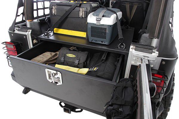 Smittybilt Rear Security Storage Vault 76 06 Wrangler Cj