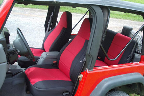 Smittybilt Neoprene Rear Seat Cover 97 02 Wrangler Tj