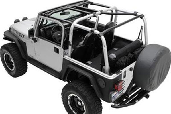 Smittybilt Src Cages 97 06 Jeep Wrangler Tj 4wheelonline Com