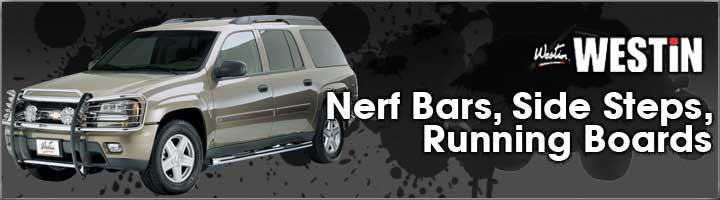 Westin Nerf Bars, Steps & Running Boards