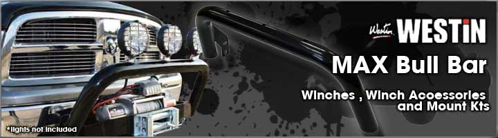 Chevy Gmc Westin Max Winch Tray Bull Bar Light Bar