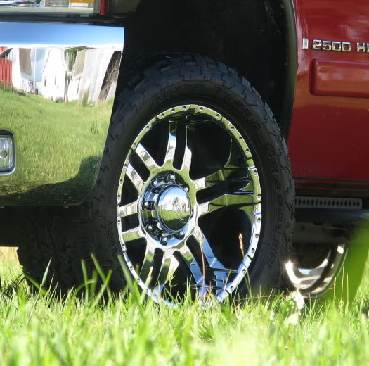 American Wheel And Tire >> Eagle Alloy 079 Chrome Wheel | 4WheelOnline.com