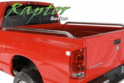 Raptor Series Stainless Bed Rails