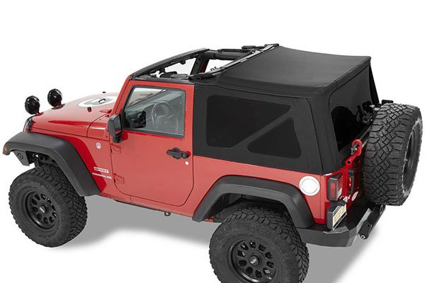 Bestop Twill Supertop Nx Soft Tops 07 17 Jeep Wrangler Jk