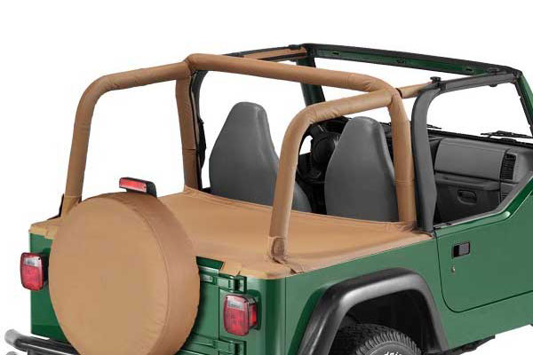 Bestop 90008-37 Spice Duster Deck Cover for 1992-1995 Wrangler with Supertop Bow Folded Down