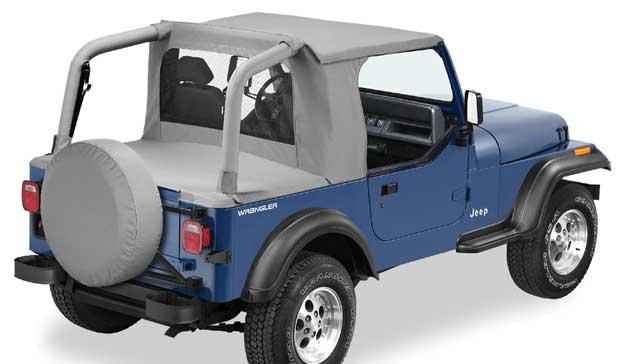 bestop jeep half top soft tops. Black Bedroom Furniture Sets. Home Design Ideas