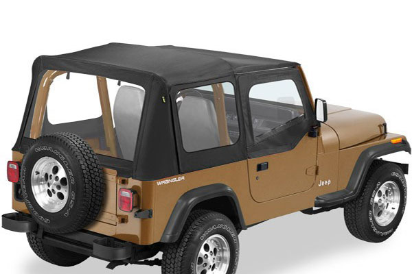 Bestop Replace-a-Top Soft Tops 1976-06 Jeep Wrangler YJ ...