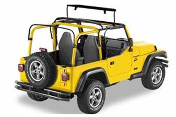 Bestop Jeep Sunrider Soft Top 4wheelonline Com