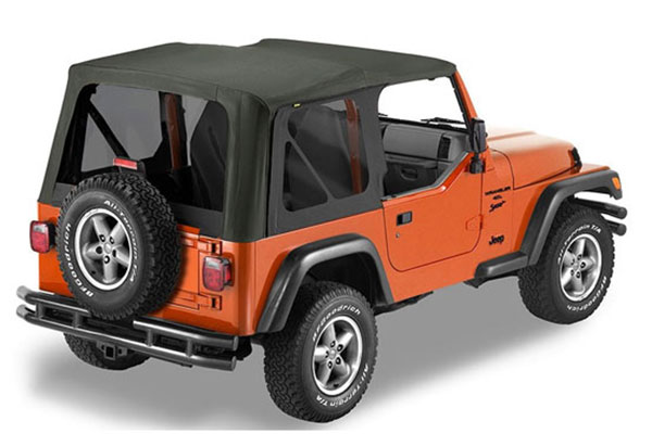 Bestop Sailcloth Soft Top Replace A Top 97 02 Jeep