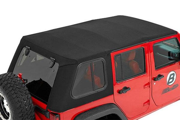 Bestop trektop pro soft top for 07 17 jeep jk unlimited prevnext publicscrutiny Image collections