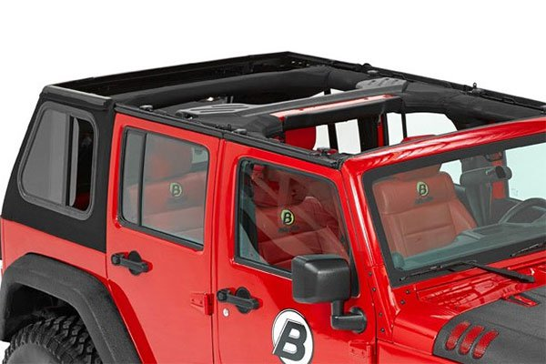 Bestop Trektop Pro Soft Top For 07 17 Jeep Jk Unlimited