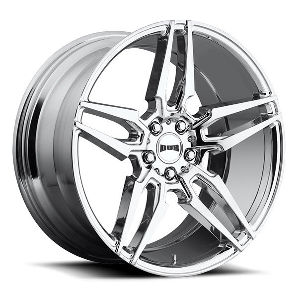 Dub Attack 5 S210 Chrome Wheels