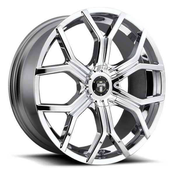 Dub Royalty S207 Chrome Wheels