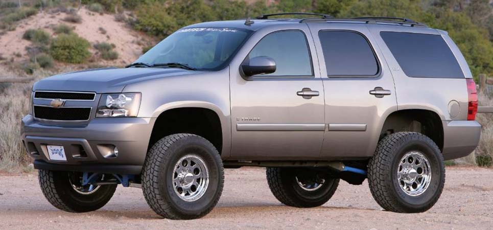 Air Door Lifts : Fabtech wd suburban suspension lift kits