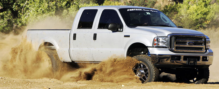 Fabtech 2wd F250 Suspension Lift Kits