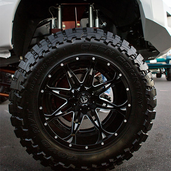 Fuel D267 Lethal Black Milled Finish Wheels 4wheelonline Com