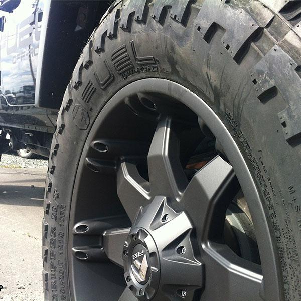 Online Tire Sales >> Fuel D509 Octane Matte Black Wheels | 4WheelOnline.com