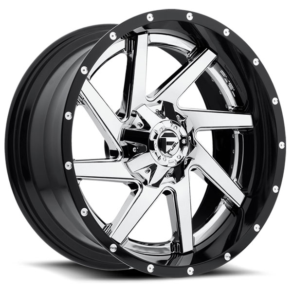 Fuel D263 Renegade Chrome Center Wheels