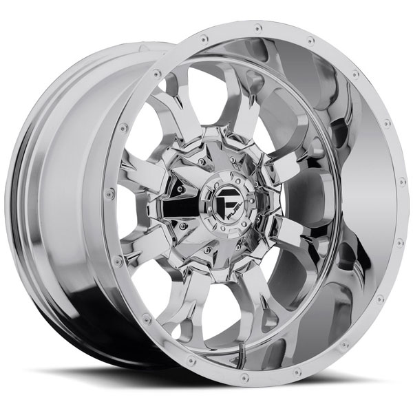 Fuel D516 Krank Chrome Plated Wheels