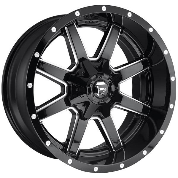 Fuel D610 Maverick Gloss Black Wheels