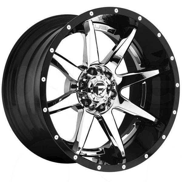 Fuel D247 Rampage Chrome Wheels