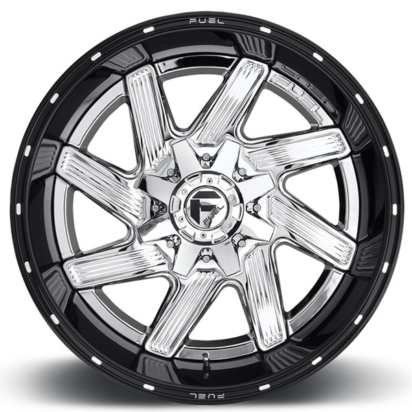 Fuel D241 Moab Chrome Wheels