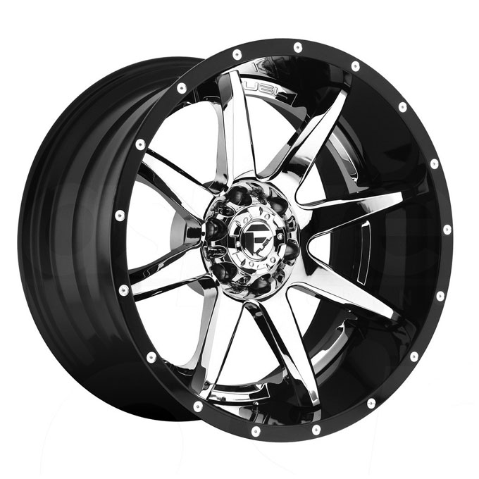 Fuel D247 Rampage Chrome Wheels 4wheelonline Com