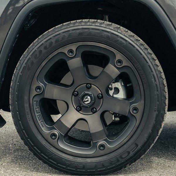 Online Tire Sales >> Fuel D564 Beast Black Machined with Dark Tint Wheels | 4WheelOnline.com