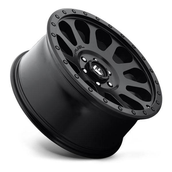 Fuel D579 Vector Matte Black Wheels | 4WheelOnline.com