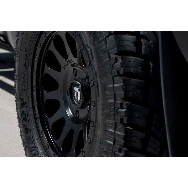Matte Black 17x8.5 Fuel Offroad Wheels Vector 6x139.7-6 Offset 108 Hub Fuel-D57917858345 Authorized Dealer