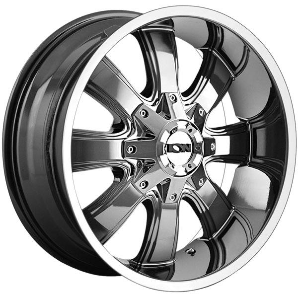 Ion Alloy 189 Pvd Chrome Wheels 4wheelonline Com