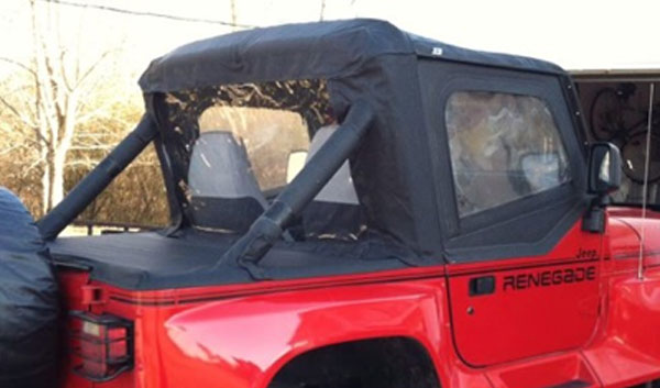 Rampage Jeep Cab Tops For 1987 1991 Yj 4wheelonline Com