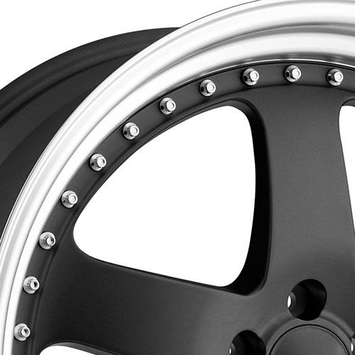 6 Point Star Rims >> Privat Wheels Legende Matte Graphite   4WheelOnline.com