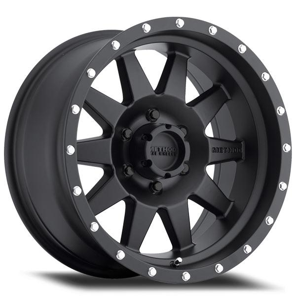 method race wheels the standard black