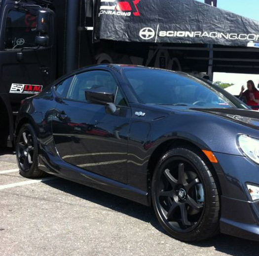 Mr Satin Black Motegi Racing On Car