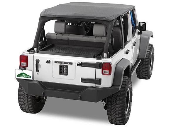Jeep Wrangler 4 Door Soft Top >> Pavement Ends Sprint Top Frameless 07 09 Jeep Wrangler Jk 4 Door