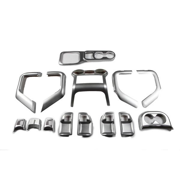 Rugged Ridge Silver Interior Trim Kits 11 15 Jk Wrangler Unlimited