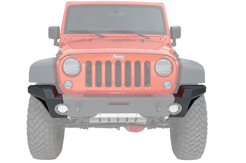 599ca2fa Add more protection to the front of your Jeep by purchasing the Bestop®  HighRock 4x4 Modular End Cap Kit. It works perfectly with the 2007-2017 Jeep  ...