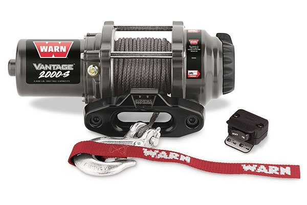 Capacity 2000 lb Warn 89020 Vantage 2000 Winch