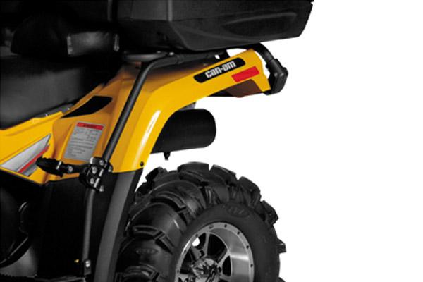 HONDA 2003-2006 TRX 400 ATV FENDER GUARD PASSENGER FOOT PEGS DOUBLE RIDE
